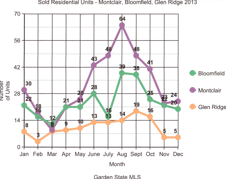Graph Units Sold 2013