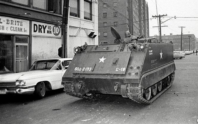 Tank in Newark